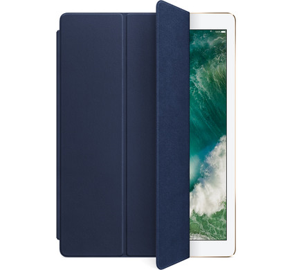 Apple iPad Pro 12,9 Leren Smart Cover Blauw