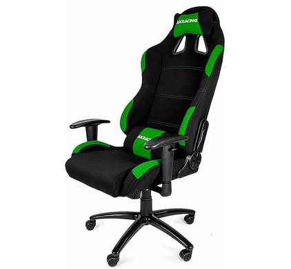AK Racing Gaming Chair Zwart / Groen