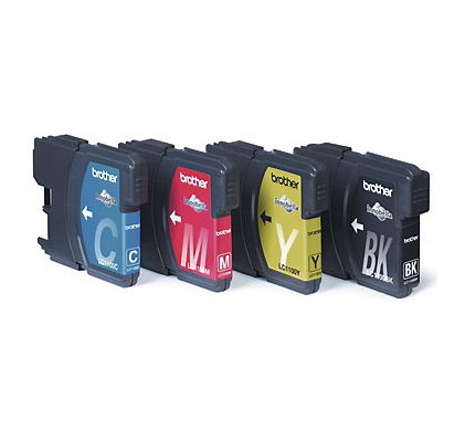 Brother LC-1100HYVALBP BCMY XL Color Value Pack