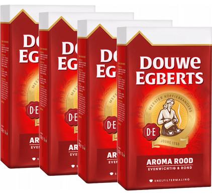 Douwe Egberts Aroma Rood snelfiltermaling 4-pack