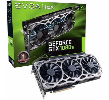 EVGA GeForce GTX 1080 Ti FTW3 Gaming