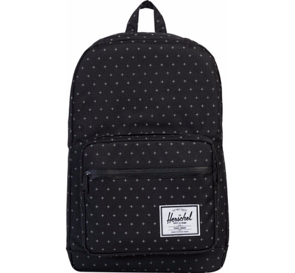 Herschel Pop Quiz Black Gridlock