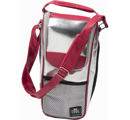 BE Cool T-743 Bottle-Bag Silver/Red