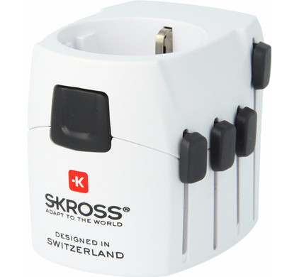 Skross World Travel Adapter Pro + Thuislader
