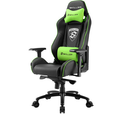 Sharkoon Skiller SGS3 Gaming Chair Zwart/Groen