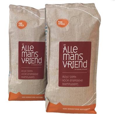 Pure Africa Allemansvriend Arabica koffiebonen 2 kg