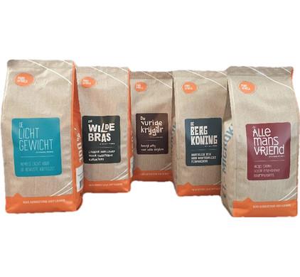 Pure Africa Kit d'essai Arabica Grains de café 2,5 kg