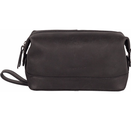 Burkely Vintage Riley Toiletry bag - Zwart