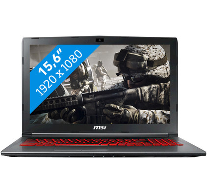 MSI GV62M 7RD-1687BE Azerty