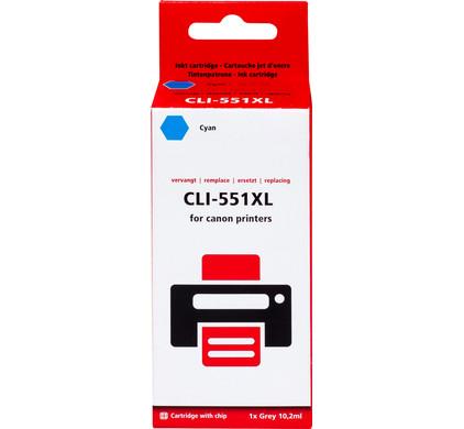 Huismerk CLI-551XL Cyaan voor Canon printers (6444B001)