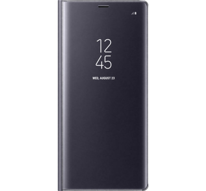 Samsung Galaxy Note 8 Clear Stand View Cover Grijs