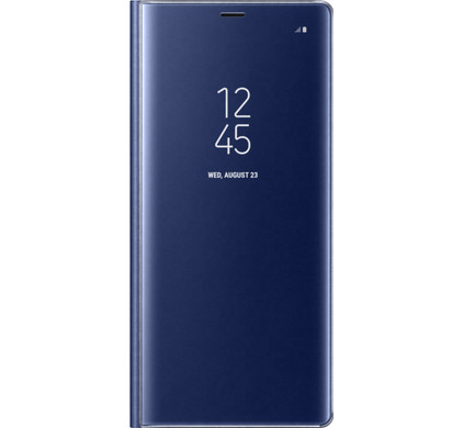 Samsung Galaxy Note 8 Clear Stand View Cover Blauw