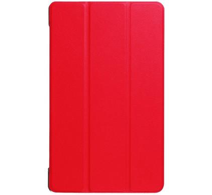 Just in Case Lenovo Tab 4 8 Plus Smart Tri-Fold Case Rood