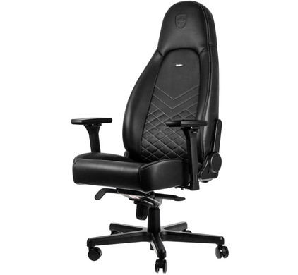Noblechairs ICON Gaming Stoel Zwart/Wit