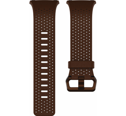 Fitbit Ionic Leren Horlogeband Bruin L