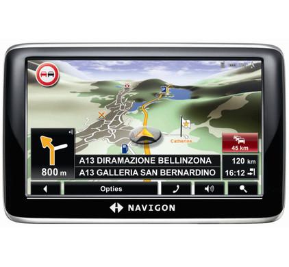 Navigon 6310 Europe + Tas + Thuislader