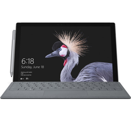 Microsoft Surface Pro Signature Cover Platinum AZERTY