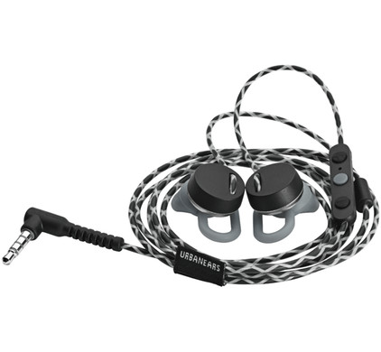 Urbanears Reimers Black Belt Apple Zwart