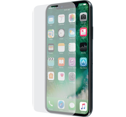 the best attitude 7e67c f7317 Azuri Apple iPhone X/Xs Screen Protector Curved Tempered Glass Duo Pack