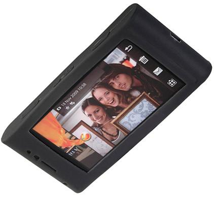Brando Silicon Case Black SE Satio + Screenprotector