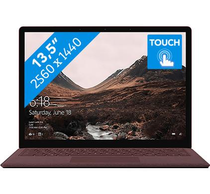 Microsoft Surface Laptop - i5 - 8GB - 256GB Burgundy Azerty
