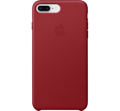 coque iphone 7 plus apple rouge