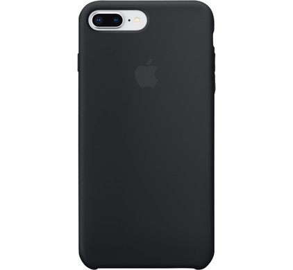 coque iphone 8 plus silicone noir