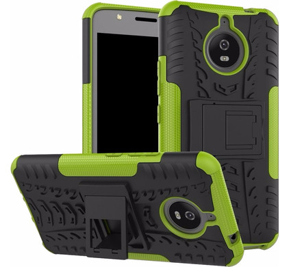 Just in Case Rugged Hybrid Motorola Moto E4 Plus Back Cover Groen