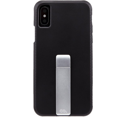 Case-Mate Tough Stand Apple iPhone X Back Cover Zwart