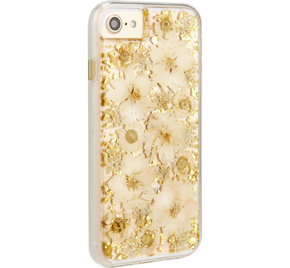 Case-Mate Karat Petals Apple iPhone 7/8 Back Cover Goud