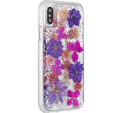 Case-Mate Karat Petals Apple iPhone X Back Cover Paars