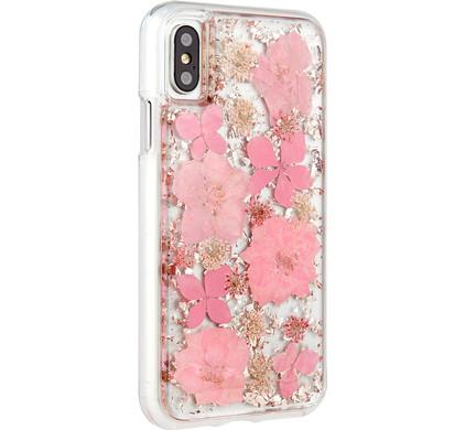 Case-Mate Karat Petals Apple iPhone X Back Cover Roze