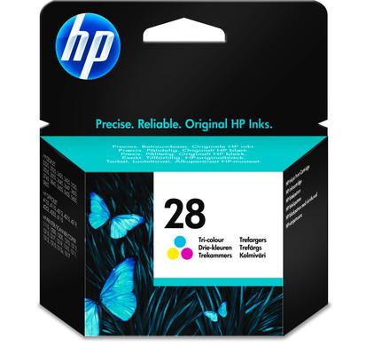 HP 28 Tri-colour Ink Cartridge 3-Kleuren (C8728AE)