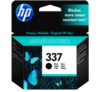 HP 337 Black Ink Cartridge Zwart (HPC9364E)
