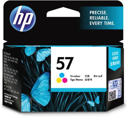 HP 57 Combo Pack 3-kleuren (C6657AE)