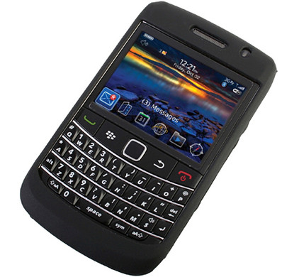 Brando Silicon Case BlackBerry 9700 + Screenprotector