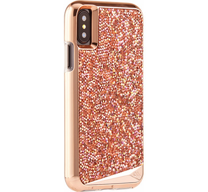Case-Mate Brilliance Apple iPhone X Back Cover Rose Gold