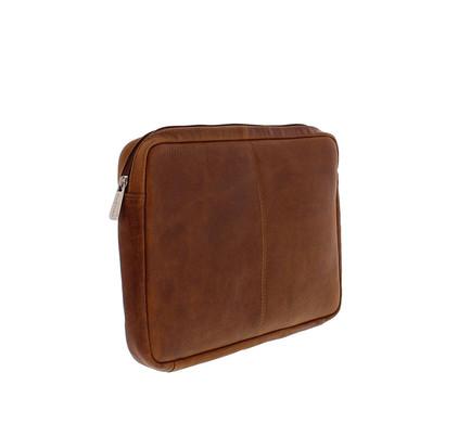 Plevier Lederen Laptop Sleeve 12'' Cognac