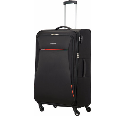 American Tourister Rally Expandable Spinner 77cm Onyx Black