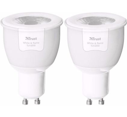 Trust Smart Home White Ambiance GU10 Duopack