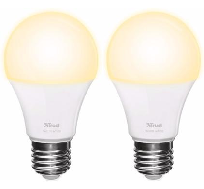 Trust Smart Home White E27 Duopack