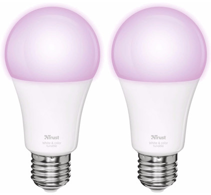 Trust Smart Home White and Color E27 Duopack