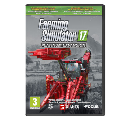 Farming Simulator 17 Pack d'Extension Platinum PC