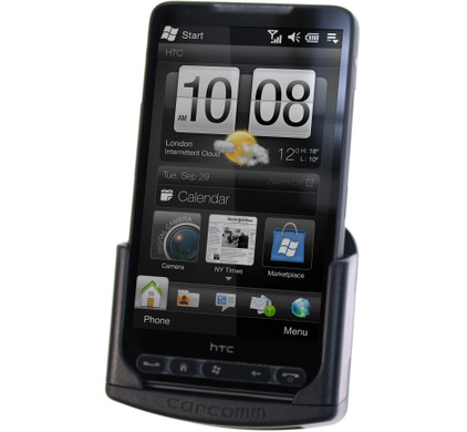Carcomm Passive Car Holder HTC HD2 + ProClip