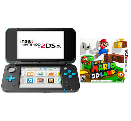 Nintendo 2DS XL + Super Mario 3D Land bundel