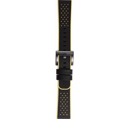 Samsung Gear Sport Hybrid Leren/Kunststof Horlogeband Geel