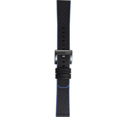 Samsung Gear Sport Hybrid Leren/Kunststof Horlogeband Blauw