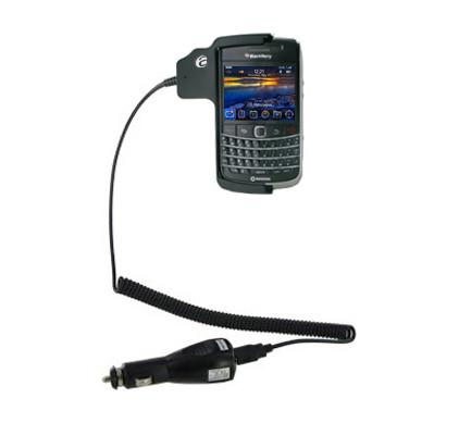 Adapt Car Holder BlackBerry Bold 9700 + Dual Car Socket