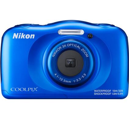 Nikon Coolpix W100 Backpack kit Blauw