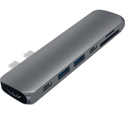 Satechi TYPE-C PRO Hub 4K HDMI Grijs